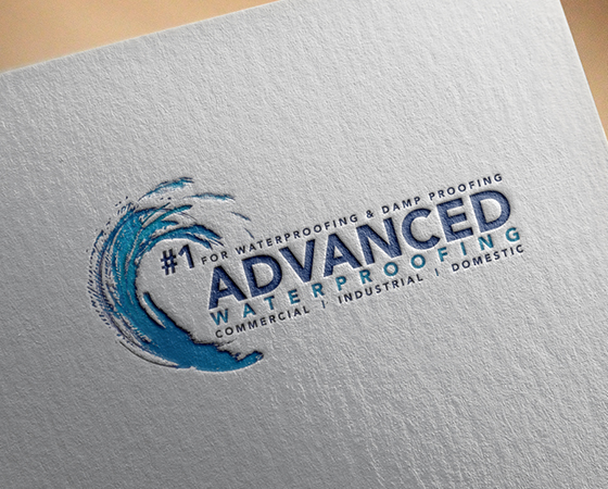 Advanced Waterproofing Logo Design