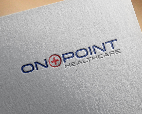 On Point Healthcare Logo Design