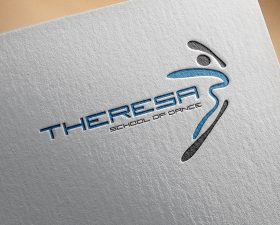 Theresa School of Dance Logo Design
