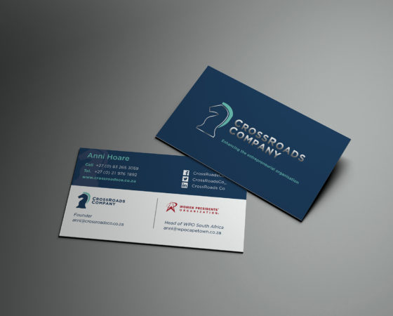 CrossRoads Company Business Card