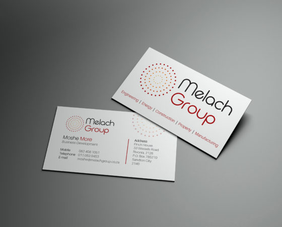 Melach Group Business Card