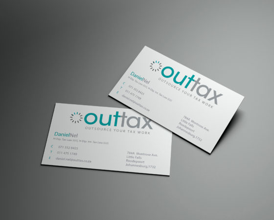 Outtax Business Card