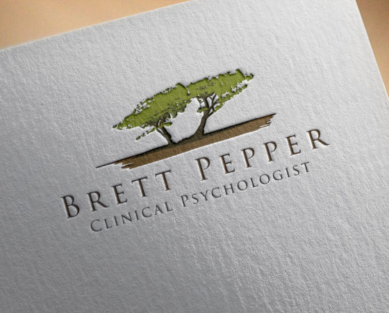 Brett Pepper Logo Design
